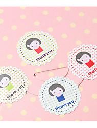 baratos -Outros Etiquetas, Etiquetas e tags - 12 Circular Autocolantes