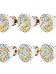 abordables -YWXLIGHT® 6pcs 5W 400-500lm GU10 MR16 E26 / E27 Spot LED 54 Perles LED SMD 2835 Blanc Chaud Blanc Froid Blanc Naturel 110-130V 220-240V
