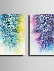 Недорогие -Отпечатки на холсте Modern, 2 панели холст Вертикальная С картинкой Декор стены Украшение дома