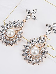 cheap -Women's Bohemian Crystal Drop Earrings - Bohemian Elegant Drop For Gift Evening Party