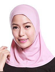 cheap -Women's Basic Linen Hijab - Solid Colored