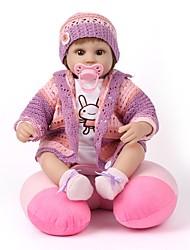 Недорогие -Куклы реборн Новый дизайн Принцесса Дети Новорожденный как живой Милый стиль Все Подарок