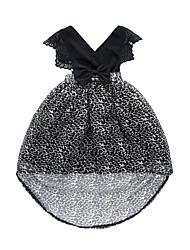 abordables -Robe Fille de Quotidien Sortie Couleur Pleine Mosaïque Jacquard Coton Acrylique Printemps Eté Sans Manches simple Rétro Noir