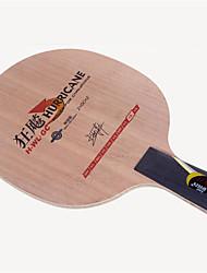 baratos -DHS® Hurricane H-WL-GC CS Ping Pang/Tabela raquetes de tênis Vestível Durável De madeira Fibra de carbono 2 + GC + 2 1