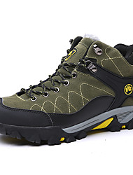 cheap -Men's Shoes PU Winter Fall Comfort Athletic Shoes Hiking Shoes for Outdoor Purple Green Pink