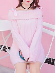 preiswerte -Damen Niedlich Aktiv Pullover - Solide
