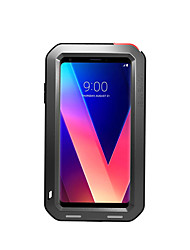 cheap -Case For LG V30 Water/Dirt/Shock Proof Full Body Cases Solid Color Hard Metal for LG V30
