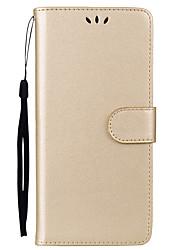 abordables -Funda Para Samsung Galaxy Nota 8 Soporte de Coche / con Soporte / Flip Funda de Cuerpo Entero Un Color Dura Cuero de PU para Note 8