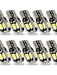 abordables -SENCART 10pcs Ampoules électriques 2W SMD 5630 8 Éclairage intérieur For Universel Universel Universel