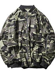 Недорогие -Муж. Куртка камуфляж С принтом Жаккард