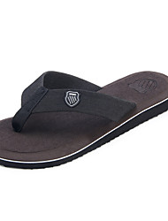 cheap -Men's Shoes Fabric Summer Comfort Slippers & Flip-Flops for Casual Outdoor Gray Brown Red Green Camel