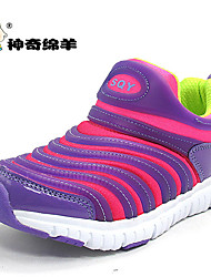 cheap -Boys' Shoes Tulle Summer Comfort Flats Walking Shoes Magic Tape for Casual Purple Light Blue Light Green Royal Blue