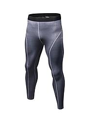 baratos -Homens Calças de Corrida - Azul, Vermelho / Branco, Cinzento Esportes Sólido Calças / Leggings Exercício e Atividade Física Roupas Esportivas Respirabilidade Com Stretch