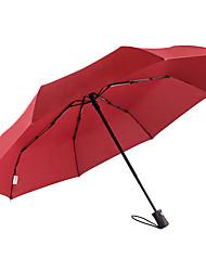 abordables -boy® Tejido Hombre / Mujer Soleado y lluvioso / A prueba de Viento / nuevo Paraguas de Doblar