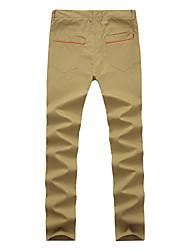 cheap -Men's Slim Jeans Pants - Solid Colored Color Block
