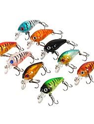 preiswerte -9 Stück Angelköder kleiner Fisch Seefischerei Fliegenfischen Köderwerfen Eisfischen Spinn Spring Fischen Fischen im Süßwasser Andere