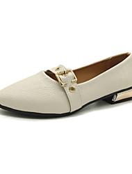 abordables -Femme Chaussures Polyuréthane Printemps Eté Confort Chaussures à Talons Hauteur de semelle compensée Bout ouvert La boucle du crochet pour