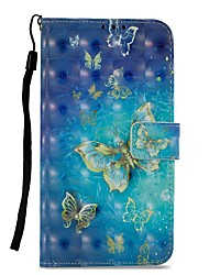 cheap -Case For Motorola MOTO Z2 play Card Holder Wallet with Stand Flip Magnetic Full Body Cases Butterfly Hard PU Leather for Moto Z2 play