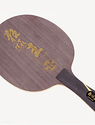 cheap -DHS® Hurricane King FL Ping Pang/Table Tennis Rackets Wooden Carbon Fiber Rubber Long Handle Pimples