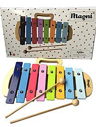 Недорогие -Обучающая игрушка Устройства для снятия стресса Для детей Очень свободное облегание Музыкальные инструменты деревянный Алюминий