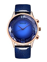 cheap -BAOGELA Women's Casual Watch / Sport Watch / Fashion Watch Chinese Large Dial Genuine Leather Band Vintage / Fashion Blue / Red / Purple / Two Years