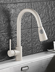 cheap -Standing Style Standard Spout Vessel Widespread Rotatable Ceramic Valve Single Handle One Hole N/A, Kitchen faucet