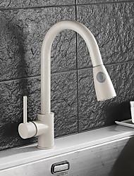 baratos -Estilo em Pé bico padrão Pia Separada Rotativo Válvula Cerâmica Monocomando e Uma Abertura N/D, Torneira de Cozinha
