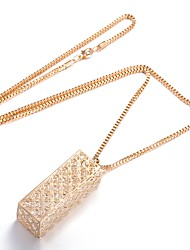 cheap -Women's Pendant Necklace  -  Fashion Geometric Rose Gold Necklace For Gift Daily