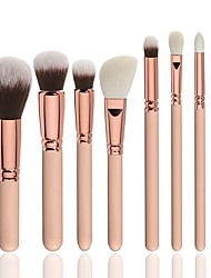 cheap -8pcs Professional Makeup Brushes Makeup Brush Set Synthetic Hair / Nylon Soft / Full Coverage Wooden 1 * Fan Brush / 1 * Sponge