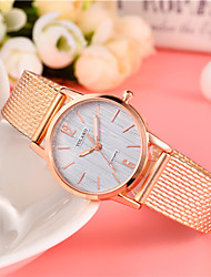 cheap -Women's Fashion Watch Chinese Casual Watch Alloy Band Colorful / Minimalist Black / Red / Gold