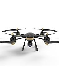 Χαμηλού Κόστους -RC Ρομποτάκι FINECO FX-22G 4 Kανάλια 6 άξονα 2,4 G Με κάμερα HD 1080P Ελικόπτερο RC με τέσσερις έλικες Επιστροφή με ένα kουμπί / Μετά Λειτουργία / Τοποθέτηση GPS Ελικόπτερο RC με T
