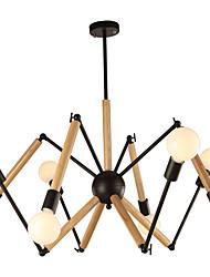 preiswerte -LightMyself™ Kronleuchter Raumbeleuchtung - Schwarz & Weiß, Traditionell-Klassisch Modern / Zeitgenössisch, 110-120V 220-240V, Wärm Weiß