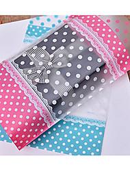 baratos -Rectângular Composição de Materiais Plástico Suportes para Lembrancinhas com Estampa Bolsas de Ofertas - 1conjunto
