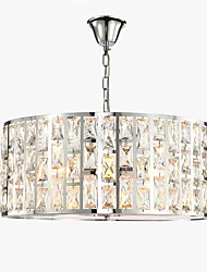 cheap -QIHengZhaoMing 5-Light Pendant Light Ambient Light - Crystal, Eye Protection, 110-120V / 220-240V Bulb Included / 15-20㎡