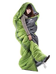 preiswerte -Naturehike Schlafsack Rechteckiger Schlafsack 8°C warm halten Regendicht Dick Camping & Wandern Draußen Frühling/Herbst Einzelbett(150 x