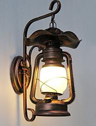 Недорогие -Винтаж Настенные светильники Коридор Металл настенный светильник 220-240Вольт 20W
