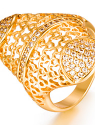 cheap -Women's Band Ring - Gold Plated Fashion 7 / 8 / 9 Gold For Wedding / Gift