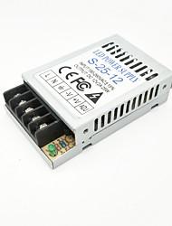 cheap -ZDM® 1pc 180-260   12 V Strip Light Accessory / Converter Power Supply Aluminum Silver