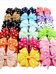 abordables -Bandeaux Accessoires pour cheveux Satin Perruques Accessoires Fille 18pcs pcs cm Quotidien Mignon Enfants