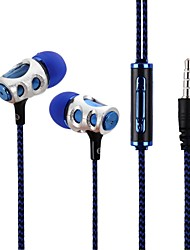 economico -LS3B141A Nell'orecchio Filo Auricolari e cuffie Dinamico Acryic / Poliestere Sport e Fitness Auricolare cuffia