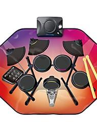 Недорогие -Бубен Музыкальное одеяло Игрушки голос Музыка Барабанная установка силикагель 1 Куски Детские Подарок