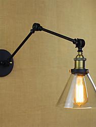 baratos -Rústico / Campestre Luminárias de parede Metal Luz de parede 110-120V / 220-240V 40W