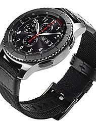 Недорогие -Ремешок для часов для Gear S3 Frontier / Gear S3 Classic Samsung Galaxy Классическая застежка Кожа / Нейлон Повязка на запястье