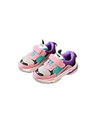 abordables -Garçon Chaussures Daim / Tulle / Polyuréthane Printemps Confort / Semelles Légères Chaussures d'Athlétisme Course à Pied / Marche pour