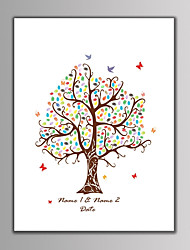 billiga -Signerade ramar & plaketter Andra Blom-tema / Klassisker Tema / Vintage Theme Med Mönster / tryck