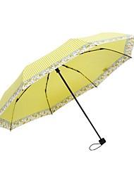 abordables -Tissu Femme Ensoleillé et Pluvieux+D4935 / A l'Epreuve du Vent / nouveau Ombrelle pliable
