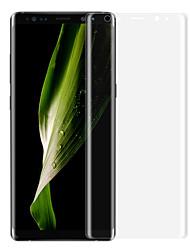 Недорогие -asling экран протектор галактики samsung для примечания 8 домашнее животное 1 шт полный защитный экран для экрана 3D изогнутый край царапина доказательство ультра тонкий взрыв доказательство