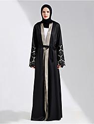 cheap -Women's Simple Coat-Multi Color Contemporary,Oversized V Neck
