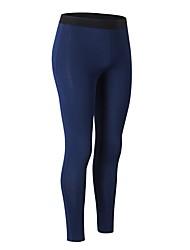 preiswerte -Damen Laufhosen Atmungsaktivität Hosen/Regenhose Übung & Fitness Polyester Weiß Schwarz Purpur Blau Dunkelmarine S M L XL XXL