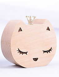 cheap -Non-personalized Wood Music Box Bride Bridesmaid Friends Baby & Kids Birthday Daily Wear